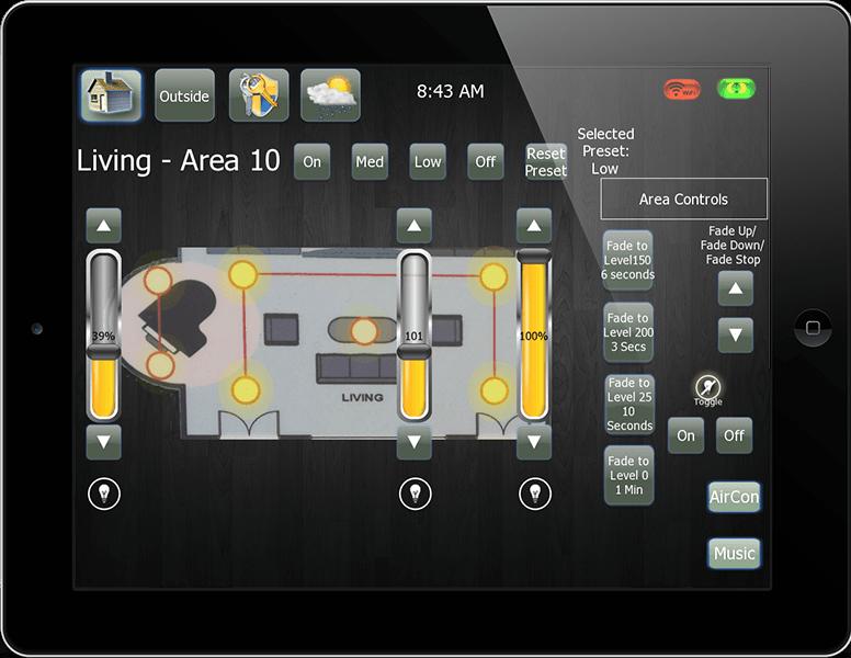Philips Dynalite (JAMware) module for iRidium  Controling Philips