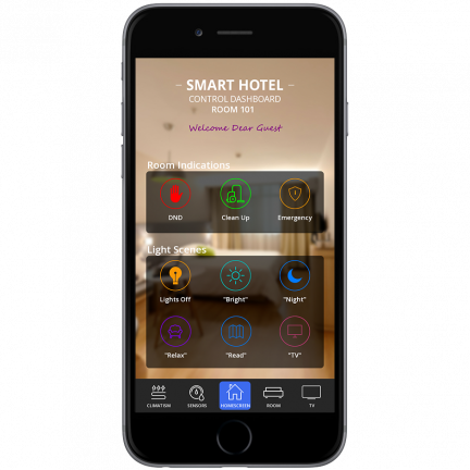 Smart Hotel - BYOD (Poseidwn tech). Greece, Athens