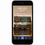 iRidium-based project (Smart Hotel - BYOD)