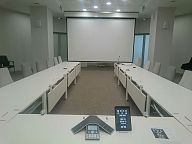 iRidium-based project (Oval meeting room in Skolkovo)