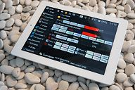 iRidium-based project (3-storeyed house). Control interface