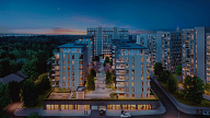 "iRidium-based project (""Cherry Garden"" Apartment Complex)"